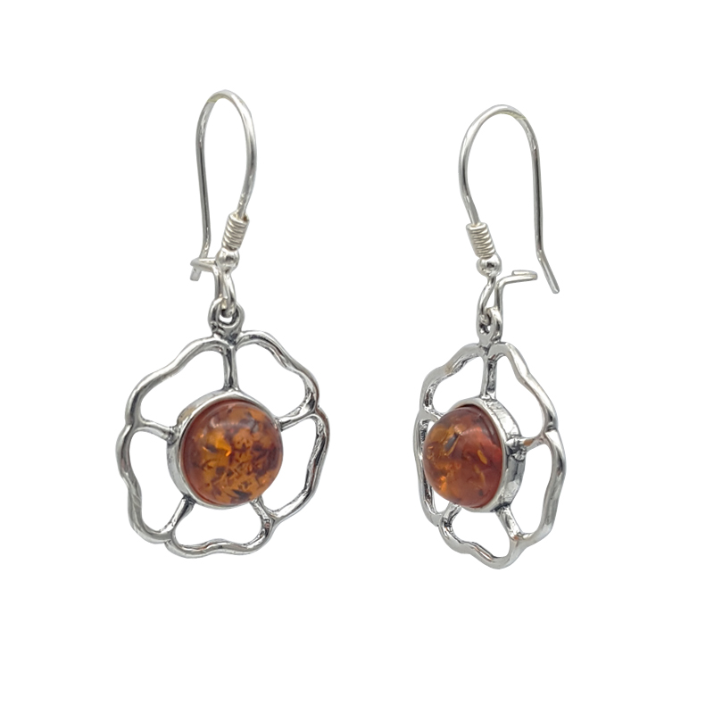 Cercei Vintage Amber 002