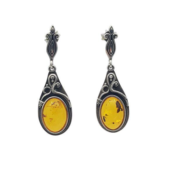 Cercei Vintage Amber 004